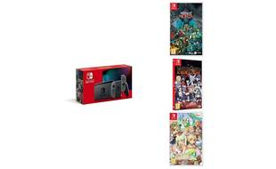 La Nintendo Switch + Children of Morta, Fairy Tail et Rune Factory 4.