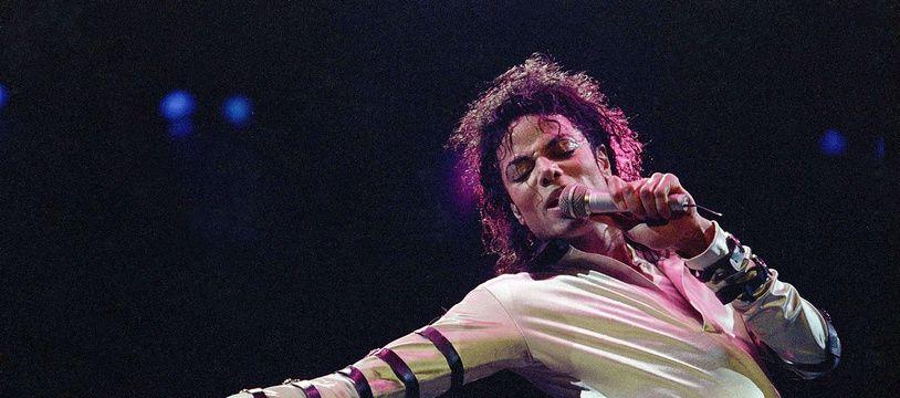 Le chanteur Michael Jackson en 1988.