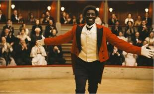 Omar Sy dans le film «Chocolat»