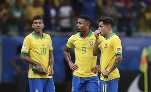 Les Brésiliens contre le Venezuela.