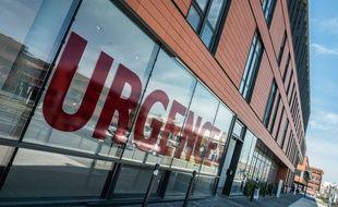 Les urgences de l'hôpital Pierre-Paul Riquet au CHU de Purpan à Toulouse, le 20 mars 2020.