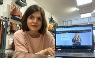 Elodie Rodriguez vient de créer son site Internet.