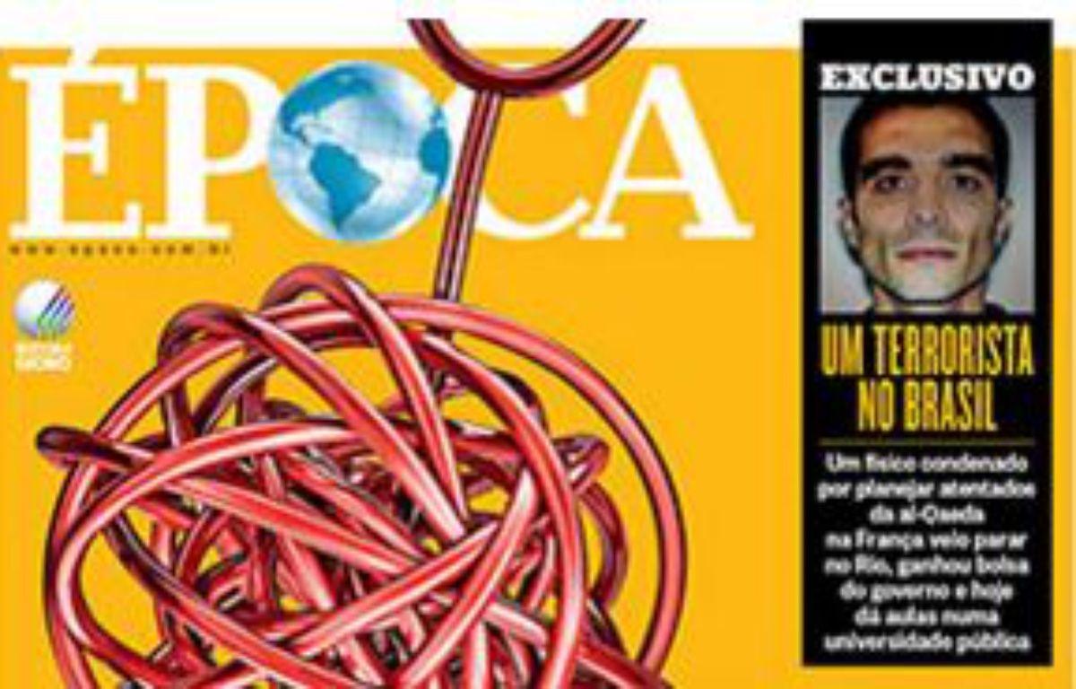 Une du magazine «Epoca», paru la semaine du 9  janvier 2016. – EPOCA