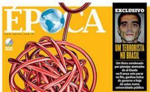 Une du magazine «Epoca», paru la semaine du 9  janvier 2016.