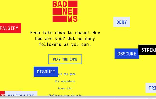 Grande-Bretagne: Un jeu pour se vacciner contre les fake news