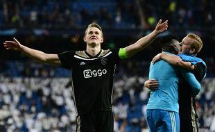 Le jeune capitaine de l'Ajax Matthijs de Ligt