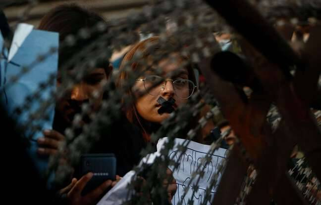648x415 manifestante lors protestation katmandou jeudi