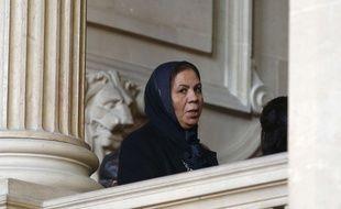 Latifa Ibn Ziaten, la mère de la première victime de Mohamed Merah, au tribunal, à Paris, le 2 novembre 2017. (photo d'illustration)