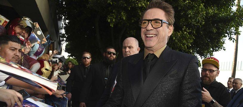 L'acteur américain Robert Downey Jr.