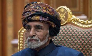 Le sultan Qabous ben Saïd, le 14 janvier 2019 à Muscat, Oman.