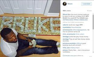 Une photo du compte Instagram de 50 Cent