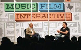 Le patron de Tesla Motors, Elon Musk, au festival SXSW 2013.