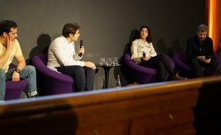 Juan Arbelaez, Marina Levy et jean-François Julliard ont débattu mercredi à l'initiative de