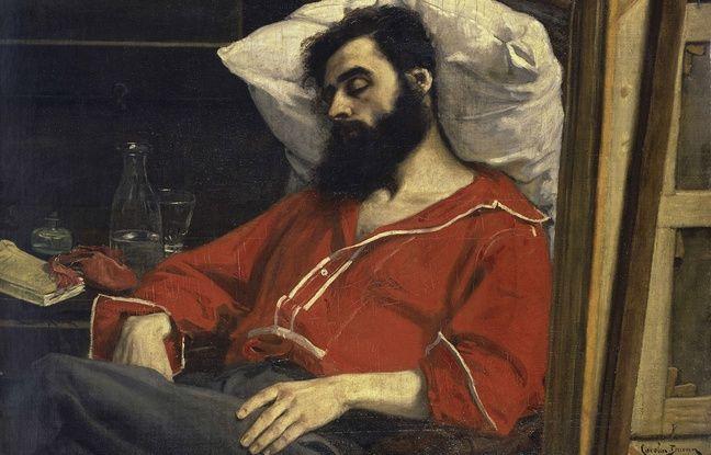 Le tableau Le convalescent, du peintre Carolus-Duran.