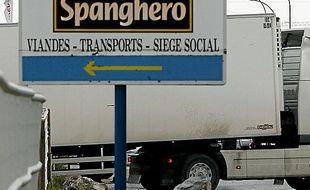 Le site de Spanghero, dans l'Aude.