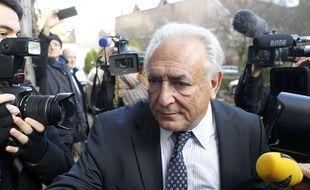 L'ancien directeur général du FMI Dominique Strauss-Kahn, le 17 février 2015 à Lille.