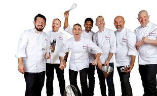 Le collectif de maîtres-pâtissiers Les 7 entremetteurs