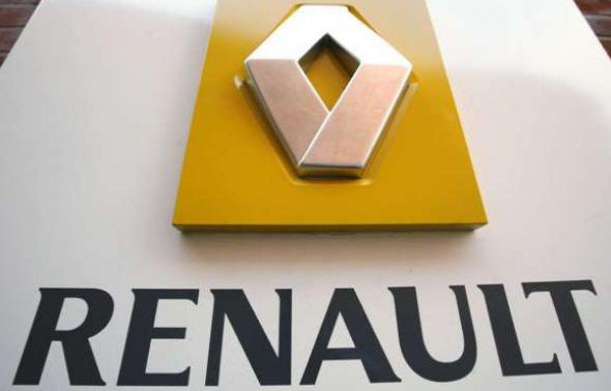 Le logo Renault.  – Jacques Brinon/AP/SIPA