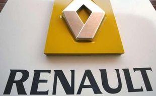 Le logo Renault.