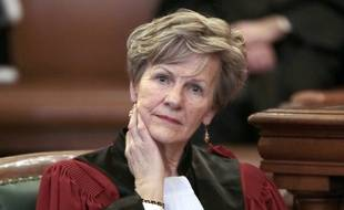 Eliane Houlette, la cheffe du parquet national financier (PNF), le 3 mars 2014, à la Cour de Paris.