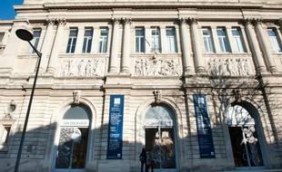 Bordeaux, 10 janvier 2012. - Facade du Musee d'Aquitaine. - Photo : Sebastien Ortola