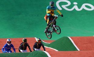 L'Australien Sam Willoughby lors des JO de Rio, le 18 août 2016.