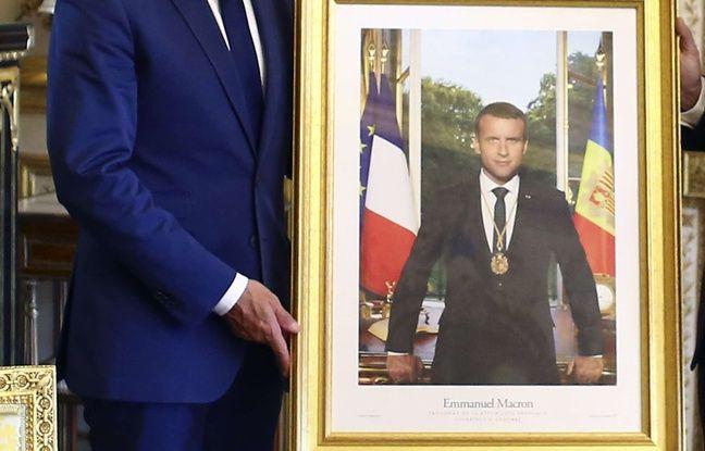 Portraits de Macron volés: A Lyon, les militants «climatiques» dénoncent la «répression policière»