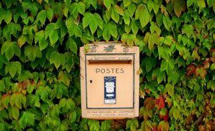 Illustration d'une boîte aux lettres