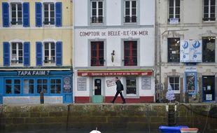 La commune du Palais, à Belle-Ile-en-Mer, le 5 décembre 2016.