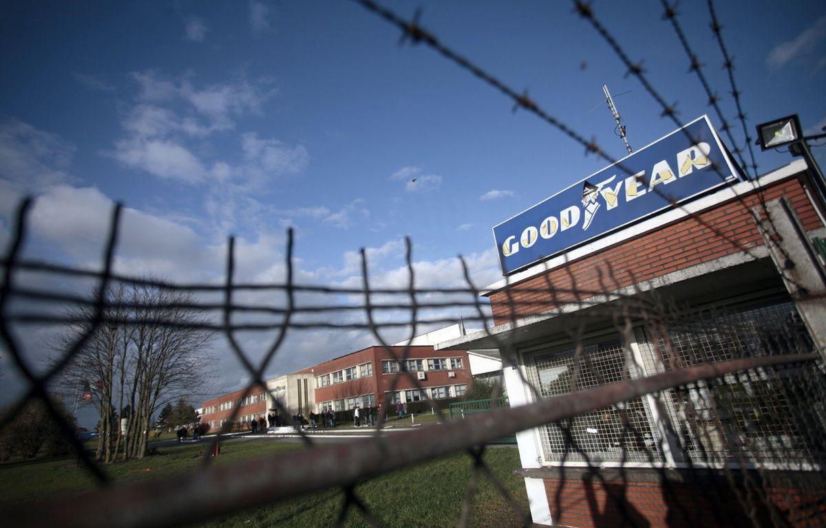 L'entrée du site GoodYear d'Amiens-Nord en janvier 2014 – Christophe Ena/AP/SIPA