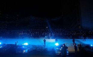 Manifestation de policiers à la Défense, le 15 juin 2020.
