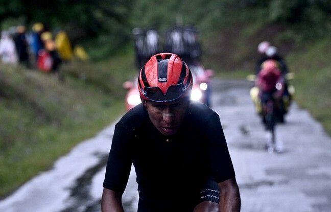 Nairo Quintana a donné l'impression d'avoir pris 10 ans avec l'étape de ce dimanche.