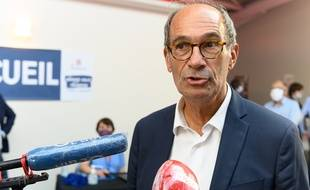 Eric Woerth, à Port-Marly le 1er août 2020.
