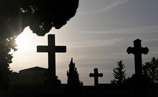 Un cimetière juif, au Danemark, a été l'objet de dégradation ce week-end (Photo illustration).