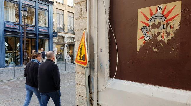 VIDEO. Lille: S'approprier une œuvre de street art est-il considéré comme du vol?