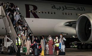Quarante-neuf ressortissants français et membres de leurs familles se trouvent à bord du vol d'évacuation de vendredi de Kaboul vers Doha. (illustration)