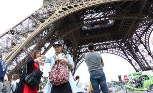 Les touristes chinois sont régulièrement la cible des pickpockets à Paris.