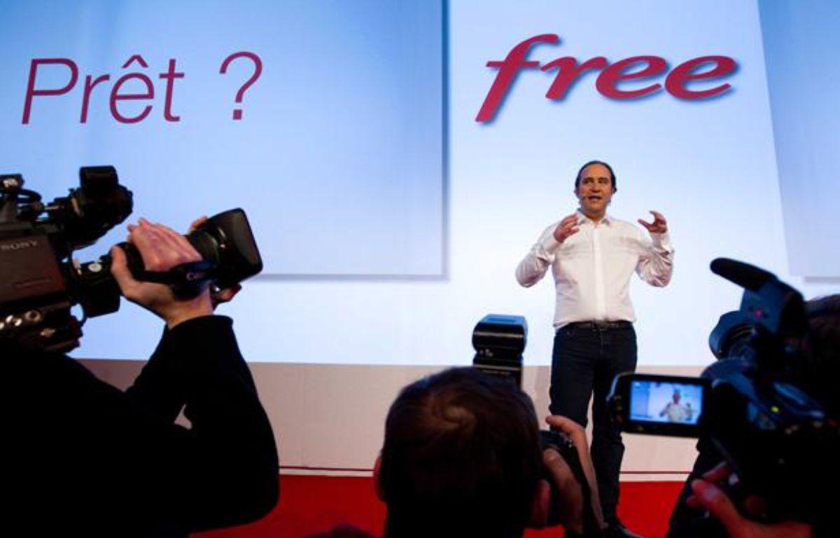 Depuis l'annonce des offres de Free Mobile, le 10 janvier 2012, les doutes persistent sur les capacités de son réseau. – PRM/SIPA
