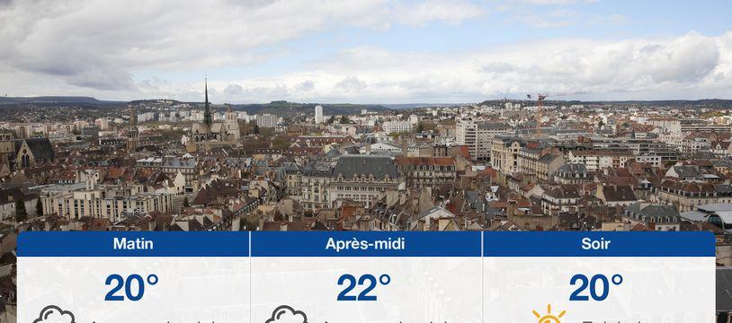 Météo Dijon: Prévisions du samedi 24 juillet 2021