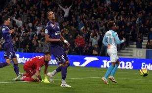 Le TFC de Christopher Jullien a lourdement chuté face à l'OM (2-5), le 18 mai 2019 au Stadium de Toulouse.