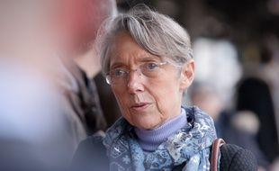 La ministre des Transports Elisabeth Borne, le 9 mars 2018 à Dijon.