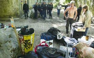 Les frichards du fort de Vancia ont été expulsés hier par les gendarmes.