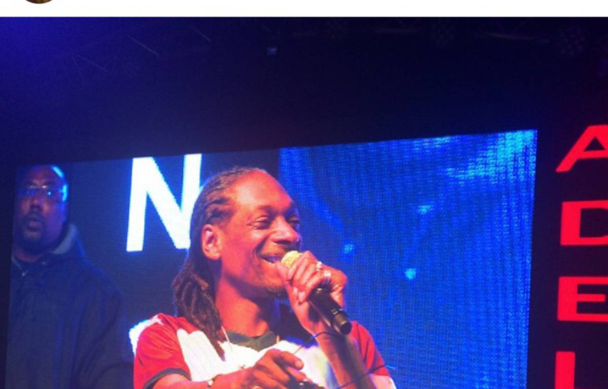Snoop Dogg portant le maillot de l'UBB. – Compte Instagram Snoop Dogg