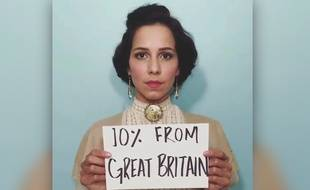 L'actrice colombienne Paola Baldion dans une vidéo intitulée «#IamMigration»