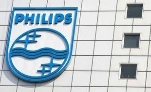 Le siège du groupe Philips à Amsterdam, en avril 2007