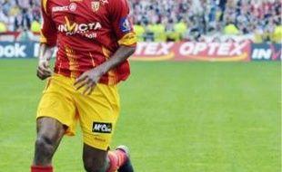 Issam Jemaa, l'attaquant lensois, devraitêtre dans le groupe pour affronter Montpellier.