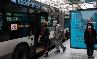 Un bus de la RATP (image d'illustration).