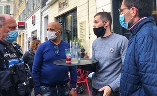 Une brigade a été crée à Marseille pour aider et contrôler les restaurateurs afin de faire respecter le protocole sanitaire
