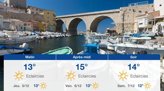 Météo Marseille: Prévisions du mercredi 4 décembre 2019 - 20minutes.fr