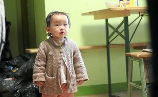 Cette jeune Mongole et sa famille devront quitter l'église St-Marc ce mardi.
